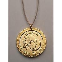 Zahnfee Münze Drache - Gold beschichtet