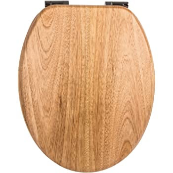 wc sitz venezia kiefer toilettensitz wc brille aus holz soft close absenkautomatik. Black Bedroom Furniture Sets. Home Design Ideas