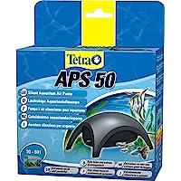Tetra APS Aquarium Luftpumpe - leise Membranpumpe, versch. Größen für Aquarien von 10-600 L, schwarz / weiß