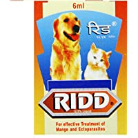 Dog Lovers Ridd Anti-Tick and Flea Solution Controller (6 ml)