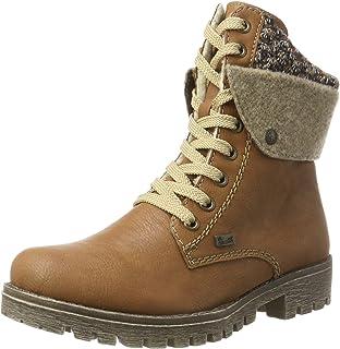 Rieker Damen Y9420 Kurzschaft Stiefel, Braun (CayenneWood
