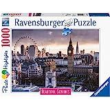 Ravensburger 14085 London, Puzzle 1000 Pezzi, Collezione Beautiful Skylines, Puzzle da Adulti, Paesaggi, Fotografia, Città, L