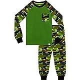 Harry Bear Pijama para niños Camuflaje Ajuste Ceñido