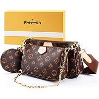 FAHIMEH Umhängetasche Damen kleine,Crossbody Bag Damen, Damen Schultertasche Handtasche Kleine Damen Fashion Gifts für…