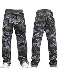 98f4ed31cc2 New Boys Kids Camo Designer Pull-On Elasticated Waist Jogger Camoflauge  Jeans Pants by JEANBASE