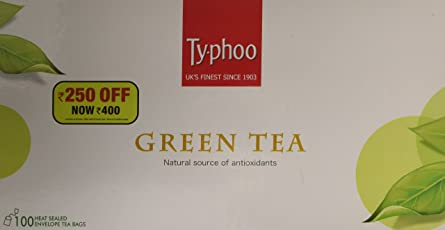 Typhoo Green Tea, 100 Tea Bags