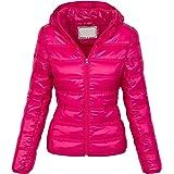 Rock Creek Selection D-206 Women's Quilted Jacket Transition Jacket Hood Short Jacket Warm S-XXL