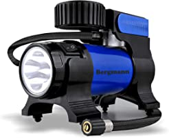 Bergmann Typhoon Car Tyre Inflator (Blue)