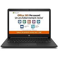 "HP 14-cm0998nf PC Ultraportable 14"" HD Noir (AMD A4, RAM 4 Go, eMMC 32 Go, AZERTY, Windows 10 S)"