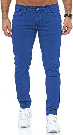 Redbridge Jeans Uomo Slim Fit Pantaloni Cotone Vasta Gamma di Colori Casual Stretch