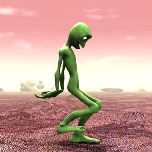 Green Alien Dance