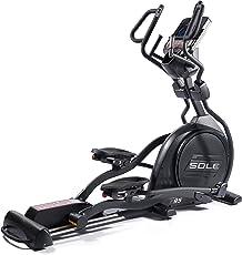Sole SE95E Steel Elliptical Cross Trainer, Adult (Silver)