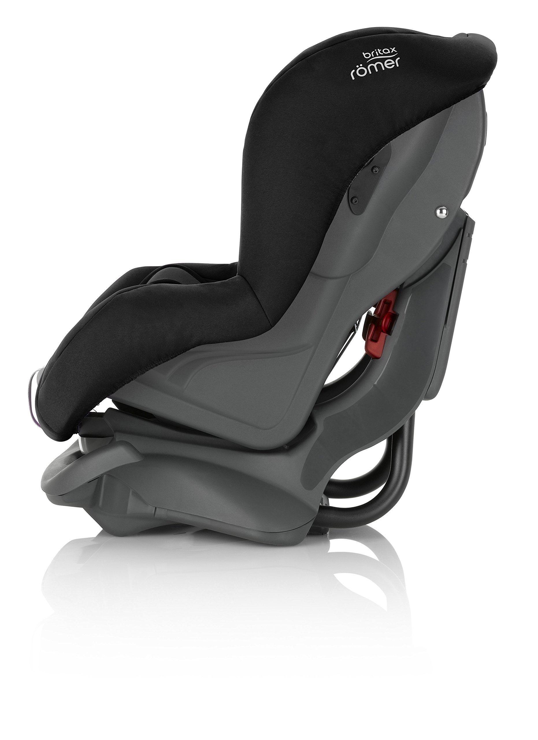Britax Römer FIRST CLASS PLUS Group 0+/1 (Birth-18kg) Car Seat - Cosmos Black  Extended recline position when rearward facing - the safest way to travel Reassurance built-in - CLICK & SAFE harness tensioning confirmation Superior protection - side impact protection Plus performance chest pads and pitch control system 3