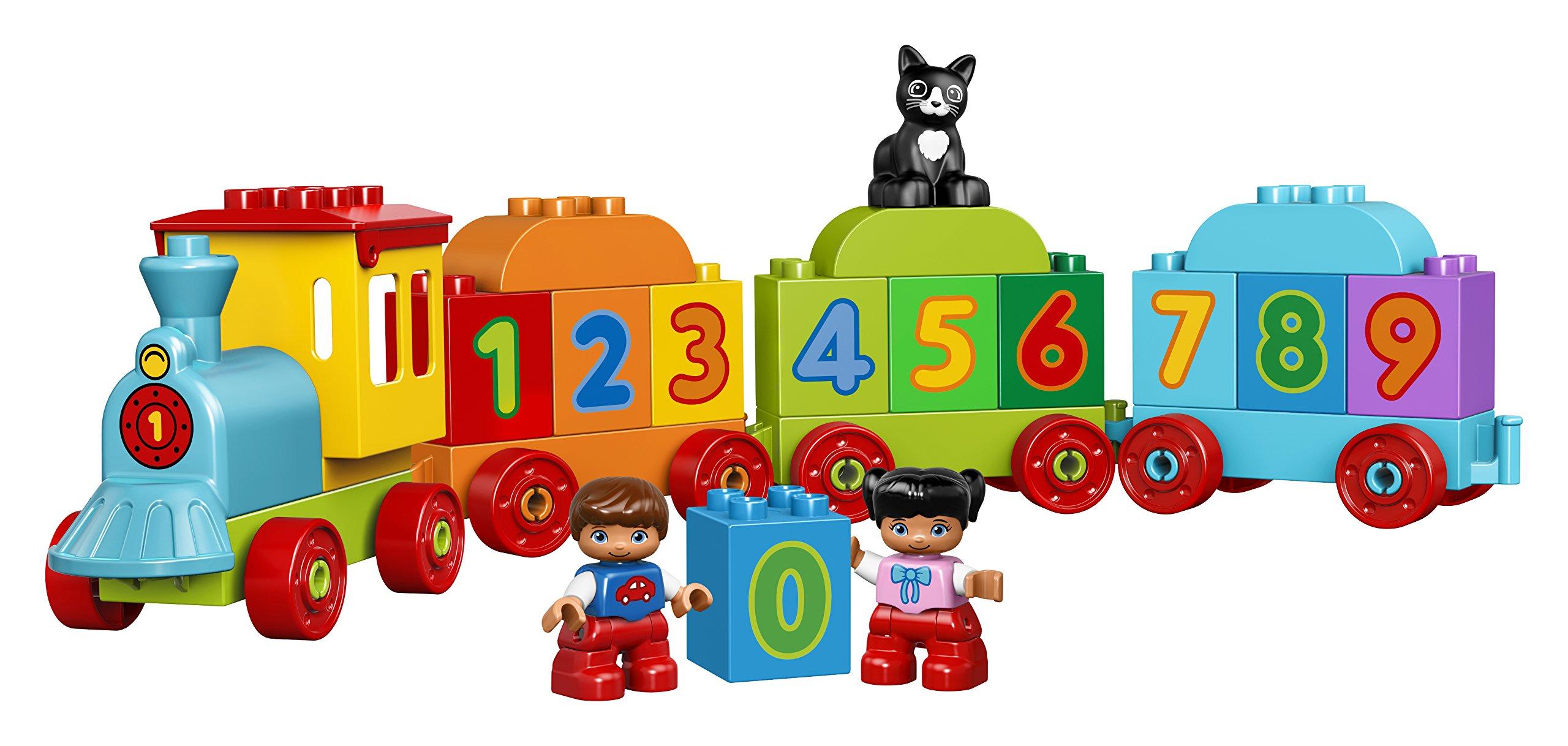 LEGO Duplo My First il Treno dei Numeri, per Iniziare a Contare Divertendosi con Questo Colorato Treno ed il Simpatico… 3 spesavip