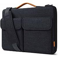 Inateck 15.6 Zoll Laptoptasche Hülle 15 Zoll Schultertasche 360° Rundumschutz spritzwassergeschützte Schulter-Laptop…