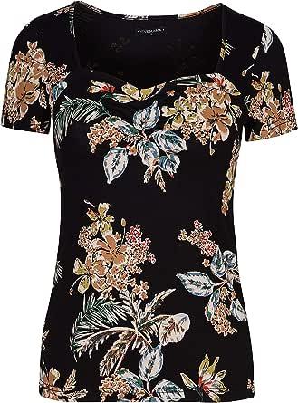 Vive Maria Honolulu Beach - Maglietta da spiaggia, colore: Nero