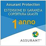 1 anno garanzia estesa per un elettrodomestico per la pulizia da 100 EUR a 149,99 EUR