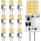 Sylvwin G4 LED Ampoule,3W LED Ampoules Blanc Chaud 3000K Équivalent 35W Lampes Halogènes,350LM,Angle de Faisceau 12V AC/DC 36