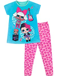 Lol Surprise Pijama para niñas Diva y Rocker