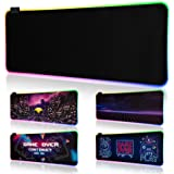 Xynetic® Mauspad – Mousepad für EIN perfektes Gaming Erlebnis – Mousepad XXL 800*300mm – RGB Mauspad in 7 perfekt abgestimmte