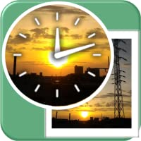 Analog Photo Clock Widget