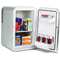 Electric Cooler Warmer Portable Car Fridge Thermoelectric System for Home Office Car Cutogain Mini Fridge Personal Fridge Cooler and Warmer