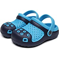 Vunavueya Enfant Sabots Mules Garçon Chaussures Sandales Tongs de Piscine Plage Fille à Enfiler EVA Clog de Jardin…