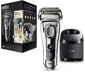 Braun Series 99295CC Elektrischer Rasierer Technologie Wet & Dry und System Clean & Charge–Chrom Premium
