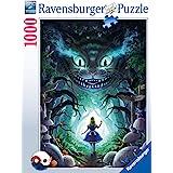 RAVENSBURGER PUZZLE- Disney Avonturen met Alice 16733-Aventure avec Alice-1000 pièces, 16733, Bleu Sarcelle/Turquoise