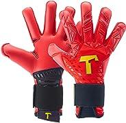T1TAN Torwarthandschuhe für Erwachsene, Fußballhandschuhe Herren & Frauen Innennaht und 4mm Profi Grip - Diverse Größe und F