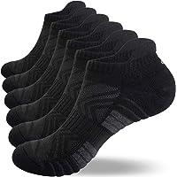 coskefy Running Socks Cushioned Trainer Socks for Men Women Ladies Anti Blister Sports Socks Cotton Ankle Socks Low Cut…