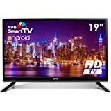 N.P.G Npg Tvs412l19h Televisor 19'' LCD Led Hd Smart Tv Android WiFi Hdmi USB Grabador Y Reproductor Multimedia