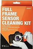 UES DSLR Digital Camera Full Frame (CCD/CMOS) Sensor Swab DDR-24 Kit (Box of 12 x 24 mm Swab + 15 ml Sensor Cleaner)