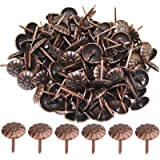500 Stuks Upholstery Tacks Nails Meubels Decoratieve Kopspijkers Thumb Tack Push Pins Antieke Bekledingsnagels Koperen Bekled