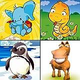 Bébé identifier les animaux: jeu gratuit