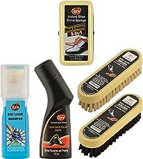 Zora Unisex Shoe Care Kit (Multicolour) - Pack of 5