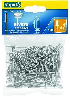 100 Stück Blindnieten 3,0x8 Popnieten 3,0 x 8 Alu//Stahl Rivets Standard-Nieten