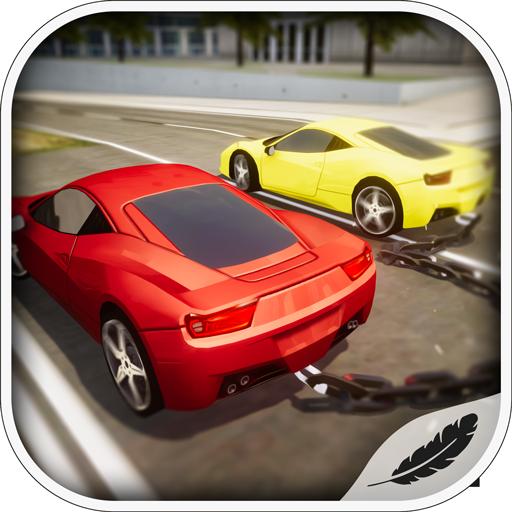 Chained Cars Challenge-Das ultimative Rennen aus