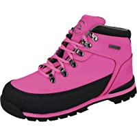 Groundwork Ladies Work Boots, Ladies Steel Toe Caps, Lace UP With Tread Sole