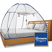 Odomos Anti Mosquito Net , Foldable , King Size , Corrosion Resistant , 30 GSM Polyester Net