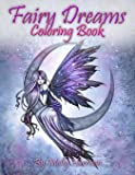 Fairy Dreams Coloring Book - by Molly Harrison: Adult coloring book featuring beautiful, dreamy flower fairies and celestial fairies!