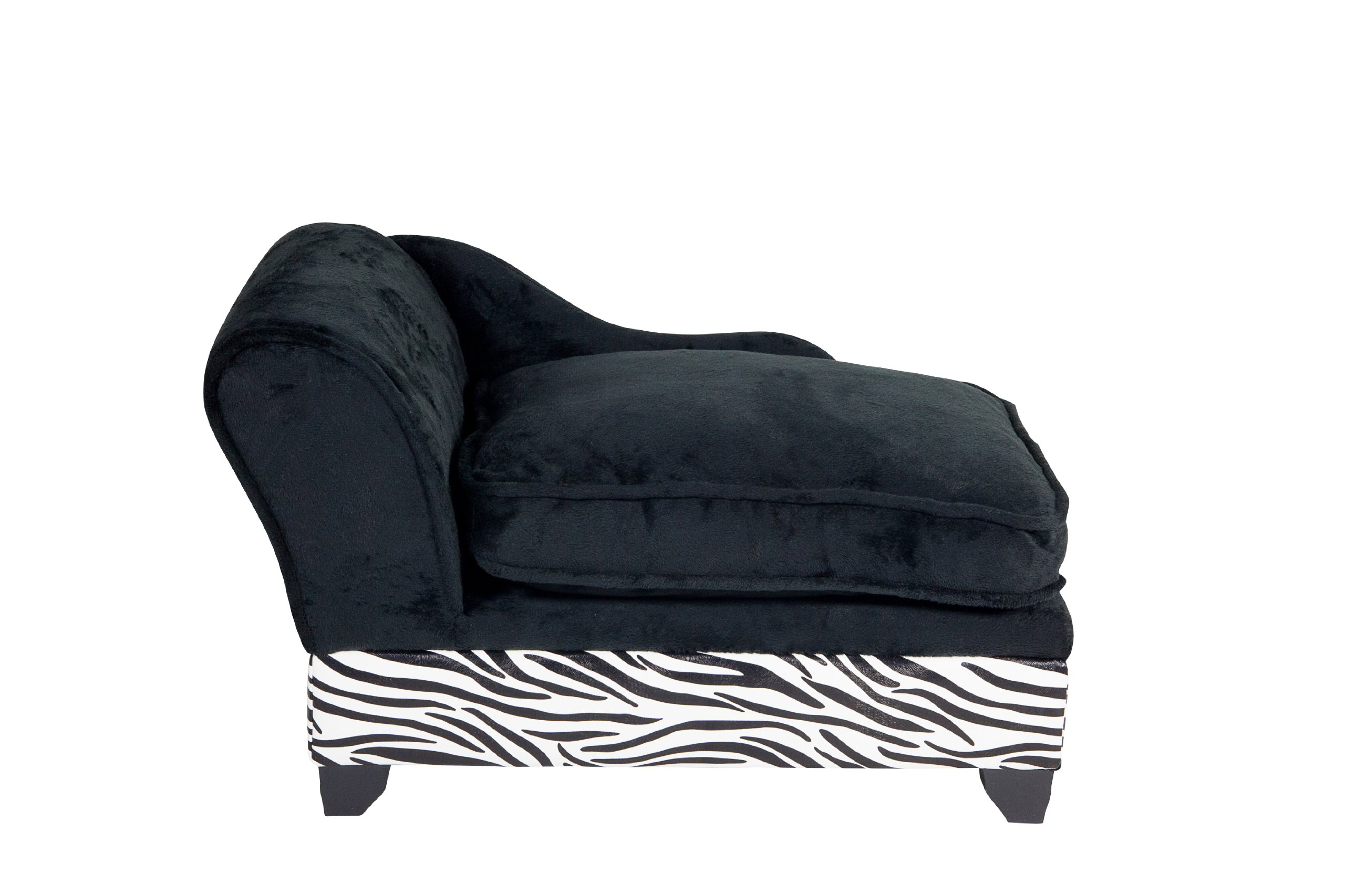 Ultra Plush Storage Bed, Zebra