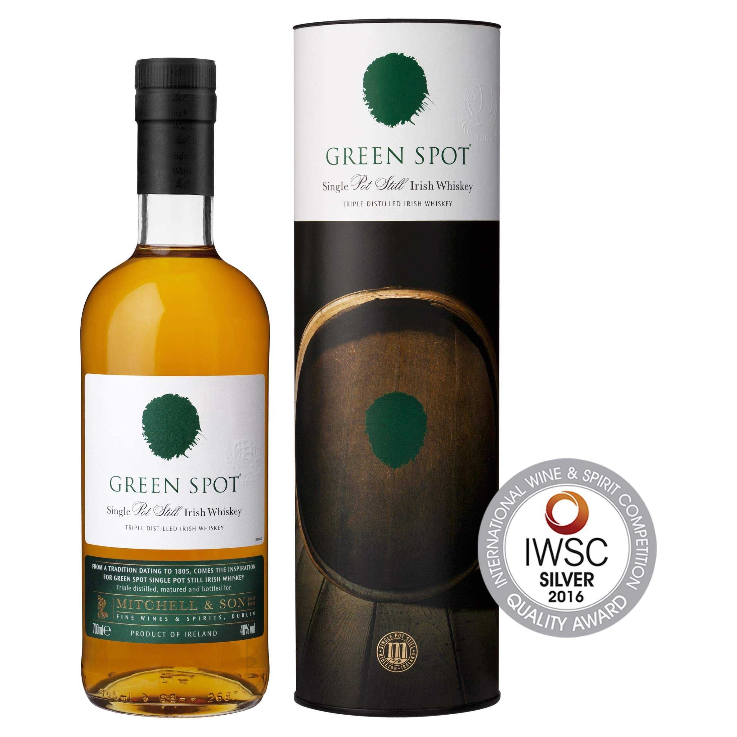 Green Spot Single Pot Still Irish Whisky, 70 cl