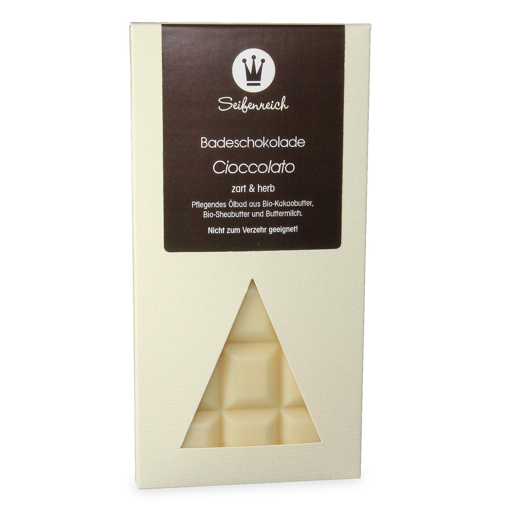 Seifenreich-Badeschokolade-Cioccolato