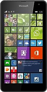 Microsoft Lumia 535 Smartphone (5 Zoll (12,7 cm) Touch-Display, 8 GB Speicher, Windows 8.1) schwarz