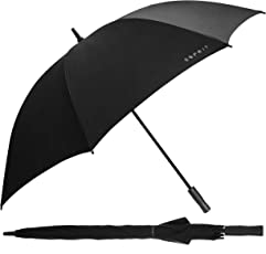 Esprit Long Polyester Black UV Coating Umbrella
