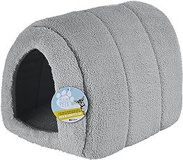 Me & My Pets - Haustierhöhle aus Fleece - grau