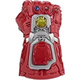 Marvel Avengers: Endgame Red Infinity Gauntlet Electronic Fist Roleplay Toy with Lights and Sounds for Kids Ages 5 and Up