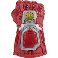Marvel Avengers: Endgame Red Infinity Gauntlet Electronic Fist Roleplay Toy with Lights and Sounds for Children Aged 5 and Up