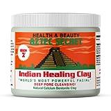 Aztec Secret - Indian Healing Clay 1 lb. (450 Grams) - Deep Pore Cleansing Facial & Body Mask - The Original 100…